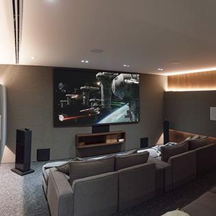 Diseño y construcción de Home Cinemas